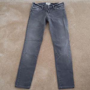 Current/Elliott grey skinny jeans